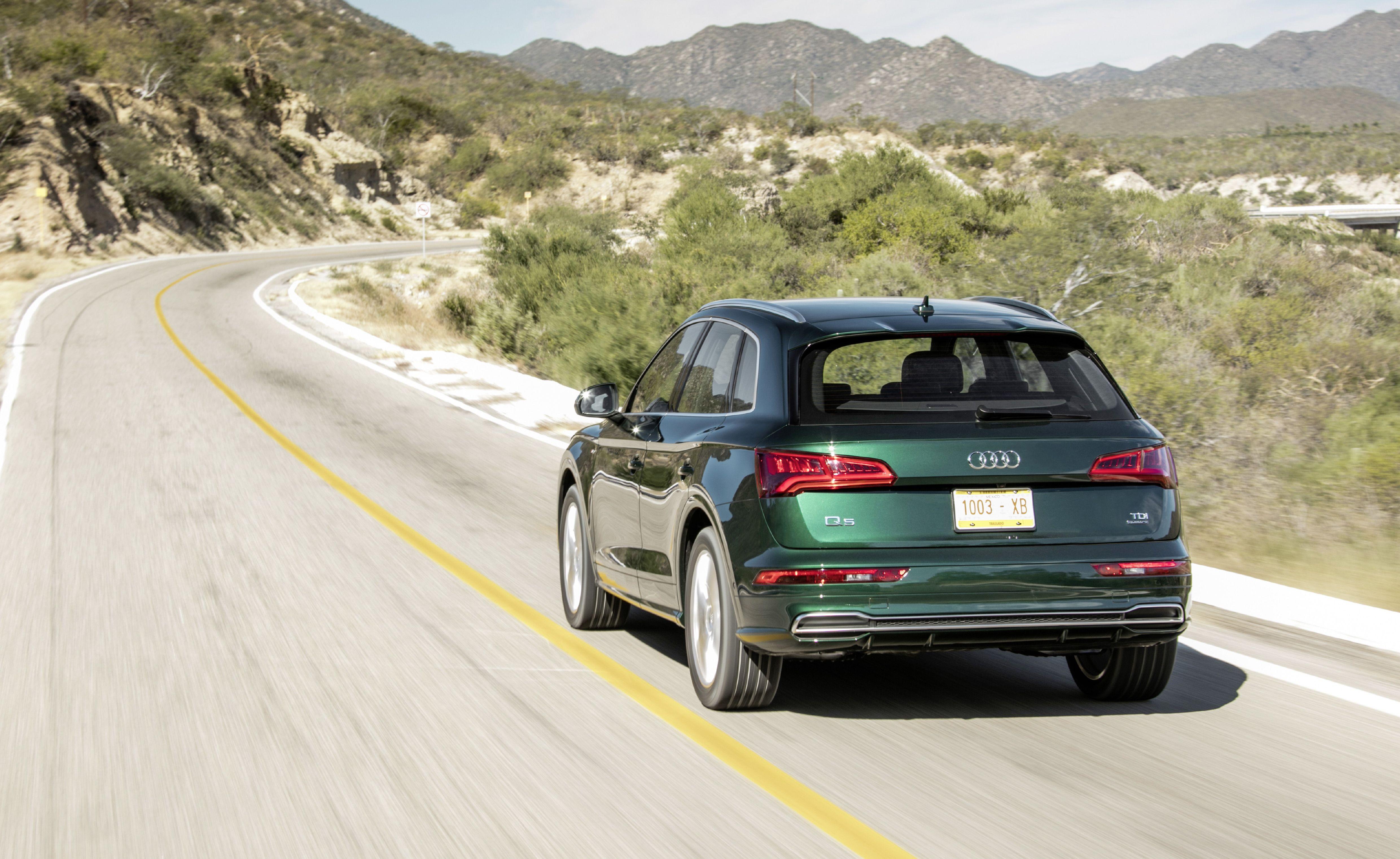 2020 Audi Q5 rear